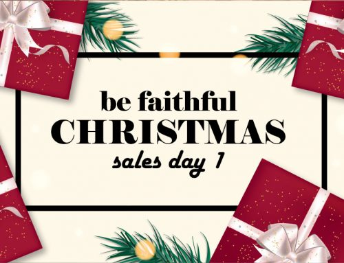GIORNO 1 – Be faithful CHRISTMAS sales